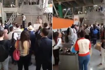 الأمن يغلق محطة الرباط المدينة في وجه المسافرين وسط احتجاج الموقوفين