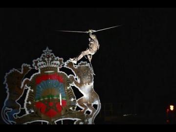 عروض قوية و مثيرة لرجال الشرطة في الذكرى 63 لتأسيس الأمن الوطني