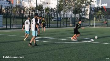 استئناف الأنشطة الرياضية بملاعب القرب