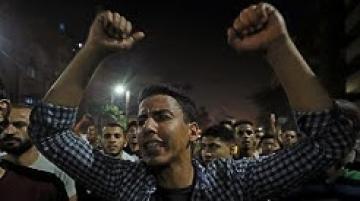 مظاهرات في القاهرة وعدة محافظات مصرية تطالب بتنحي السيسي…