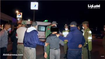 حملات تمشيطية واعتقالات في صفوف مخالفي حظر التجوال الليلي بجماعة الدراركة