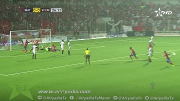 شاهد هدف تأهل المغرب التطواني على حساب شباب المحمدية في كأس العرش