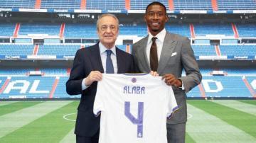 ألابا في أول تصريح بعد تقديمه رسميا.. لم أنضم للريال من أجل تعويض راموس