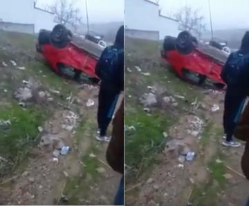 إصابات في حادثة سير بين بيكوب وسيارة أجرة بويسلان