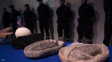 """""""الفردوس"""" يعلن عن عرض أزيد من 25 ألف قطعة أثرية مغربية تم استرجاعها بعد تهريبها إلى فرنسا بعضها عمره ملايين السنين"""