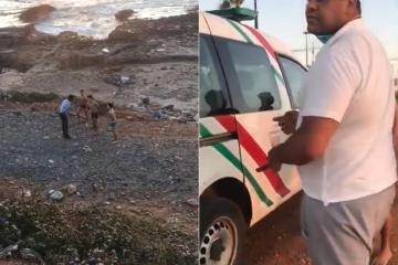 اعتقال مراهقين خرقوا الحجر الصحي للسباحة في الشاطئ بالرباط