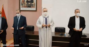 """بكاء وحزن وشهادات مؤثرة في حق الراحل الدكتور """"محمد الرامي"""" رئيس جامعة عبد المالك السعدي"""