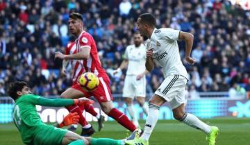 بالفيديو: جيرونا يفاجئ ريال مدريد في عقر داره وتألق ملفت لياسين بونو