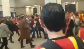 اشتباكات بين الأمن المصري وجماهير الترجي
