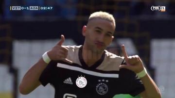بالفيديو: هدف زياش الرائع ضد فيليم في الدوري الهولندي