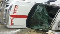 مؤلم: وفاة مسن في انقلاب سيارة إسعاف كانت تقله من مركز لتصفية الدم