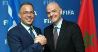 """أول تصريح لرئيس """"الفيفا"""" بعد حلوله بالمغرب"""