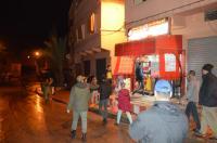 السلطات ببني ملال تطبق حالة الطوارئ وتدعو المواطنين للدخول لمنازلهم
