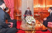 عاجل: الملك محمد السادس يستقبل السعيد أمزازي وعثمان الفردوس بالقصر الملكي بالبيضاء