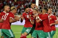 """المنتخب المغربي يتقدم برتبتين في تصنيف """"الفيفا"""" الجديد"""