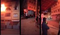 """الفقيه بن صالح:  حريق مهول يأتي على شقة سكنية و""""شارجور"""" قد يكون السبب (فيديو)"""