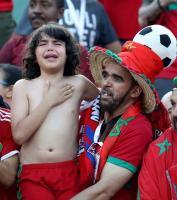 التطواني ريان...أصغر مشجع للأسود بمصر