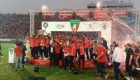 الوداد البيضاوي يتسلم درع البطولة ويقيم احتفالا كبيرا بمركب محمد الخامس