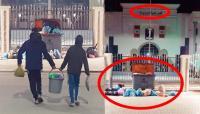 بالفيديو : غضب بتاوريرت بعد اعتقال 10 عمال نظافة مضربين ومواطنون يطرحون أزبالهم أمام مقر الجماعة