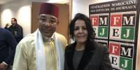 انتخاب بهية العمراني رئيسة جديدة للفيدرالية المغربية لناشري الصحف
