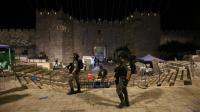 انسحاب القوات الإسرائيلية من ساحات الأقصى