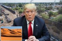 ترامب يدعو إسبانيا إلى بناء جدار عازل على طول الصحراء الكبرى للحد من تدفق المهاجرين