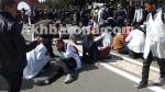 بالصور ..تدخلات عنيفة و إصابات خطيرة أثناء مسيرة الأساتذة المتعاقدين بالرباط