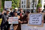 """رغم وعود """"أمزازي""""...""""ضحايا النظامين"""" يعودون للشارع للاحتجاج وهذه التفاصيل"""