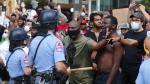 وفاة جورج فلويد: أمريكا تحصي خسائرها بعد ليلة من الاحتجاجات الصاخبة