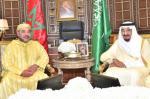 الملك محمد السادس يتصل هاتفيا بالعاهل السعودي وولي عهده
