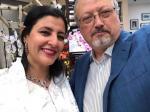 زوجة خاشقجي السرية في أمريكا تخرج عن صمتها ..وهذا رد فعل خطيبته التركية (فيديو)