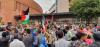 وقفة مراكش التضامنية مع فلسطين كادت تتحول لمسيرة (فيديو)